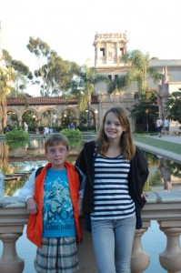 Lil WO & The Diva at Balboa Park
